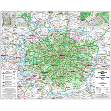 Zone Map Of London on