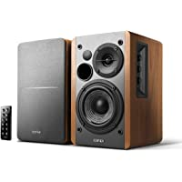 Edifier R1280DB Powered Bluetooth Bookshelf Speakers - Optical Input - Wireless Studio Monitors - 4 Inch Near Field…