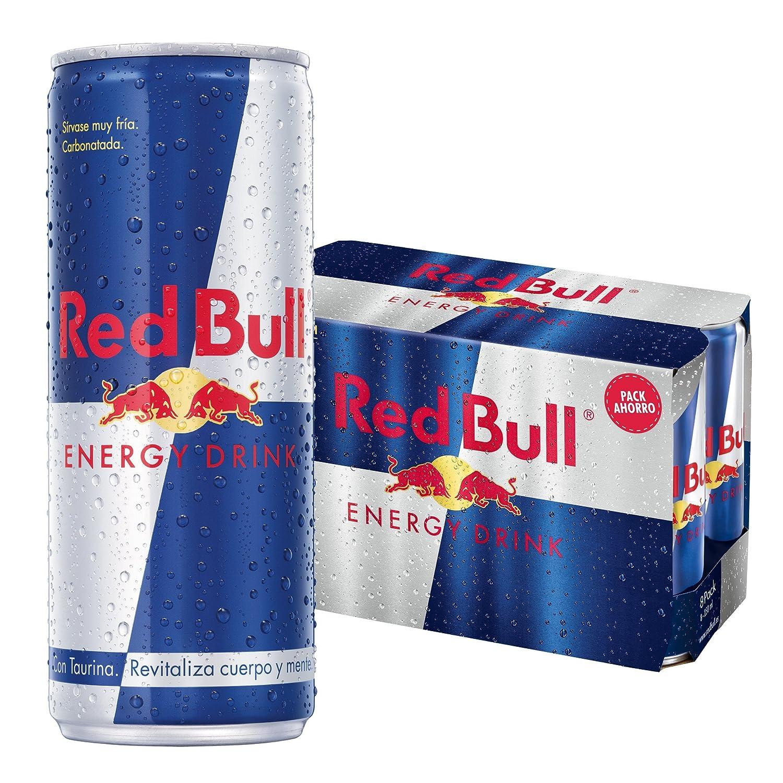Red Bull Bebida Energética - Paquete de 8 x 250 ml - Total: 2000 ...