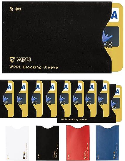 RFID mangas funda de tarjeta de Crédito - Tarjetas de ...