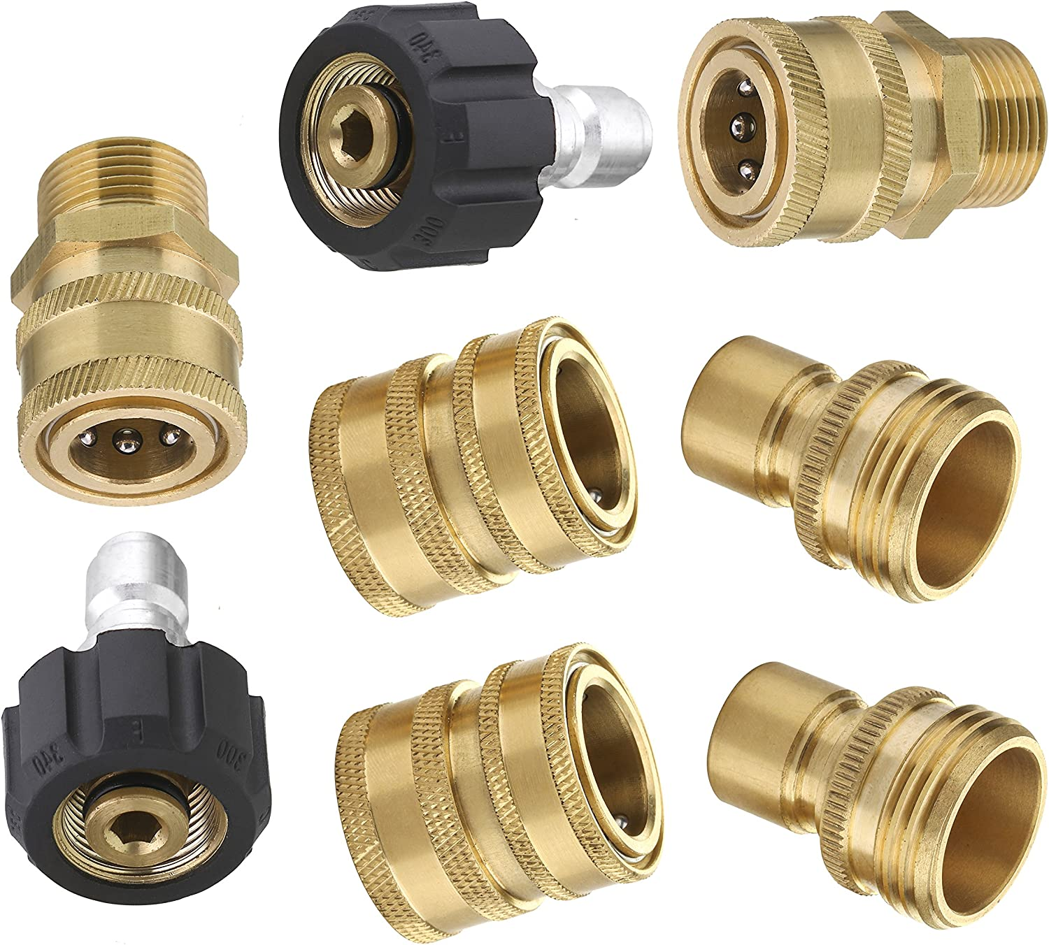 KARCHER COMMERCIAL HIGH PRESSURE WASHER HOSE OUTLET QUICK RELEASE COUPLING KIT