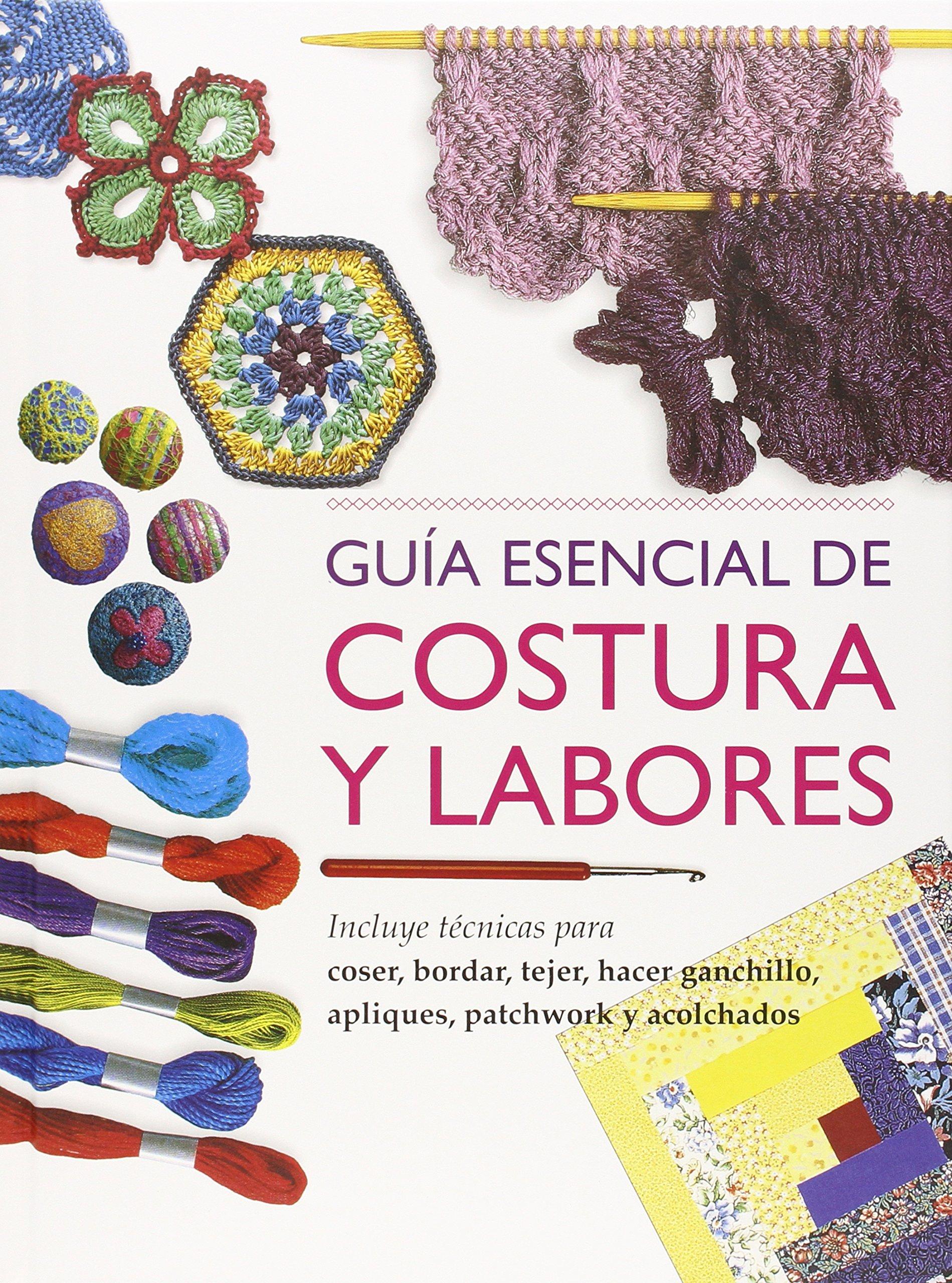 Guía Esencial De Costura Y Labores (Incluye Cd): Amazon.es: Aa.Vv ...