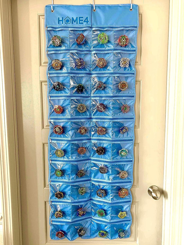 plegable caja de almacenamiento para colgar en el dormitorio 4 estantes tela Oxford MiOYOOW Bolsa de almacenamiento para colgar