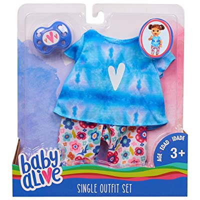 Baby Alive Single Outfit Set - Tie Dye Tee: Toys & Games