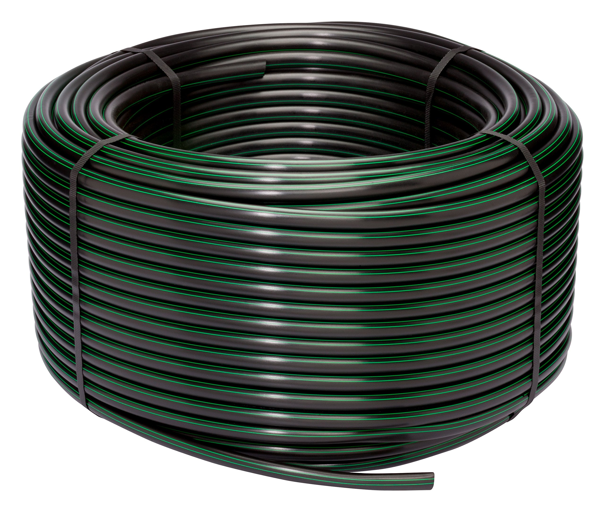 Rain Bird T63-500S Drip Irrigation 1/2'' (.630'' OD) Blank Distribution Tubing, 500' Roll, Black