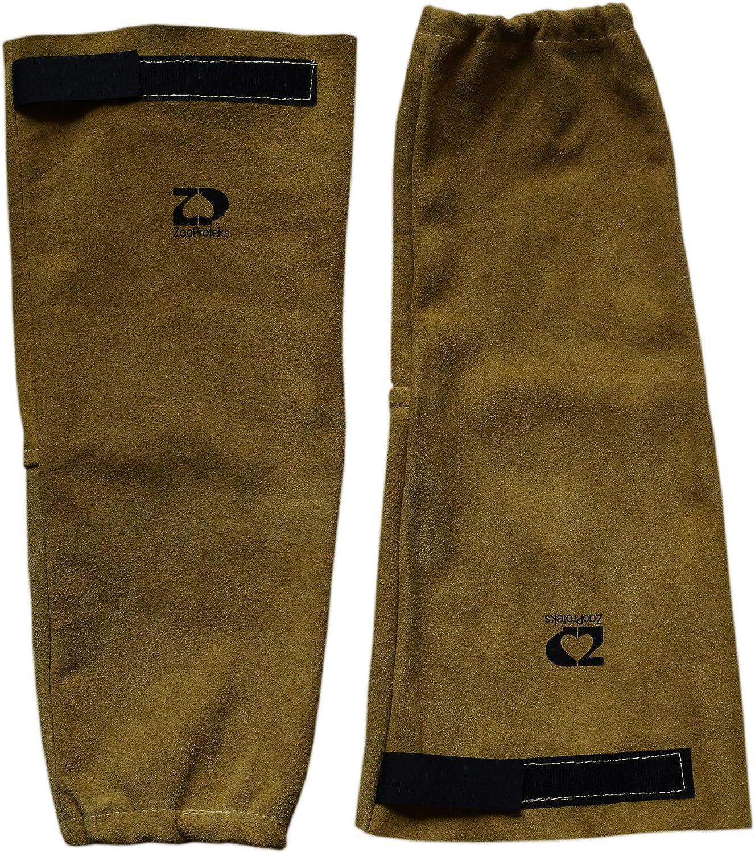 ZaoProteks Leather Heat Resistant Welding Sleeves
