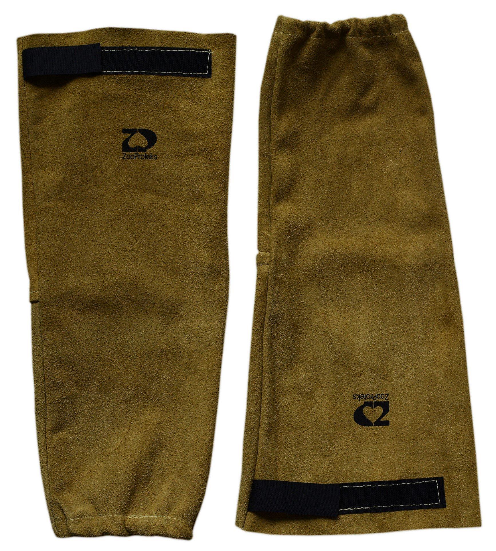 ZaoProteks ZP2202 Heat Resistant Welding Sleeves (Elastic and Velcro Cuff)