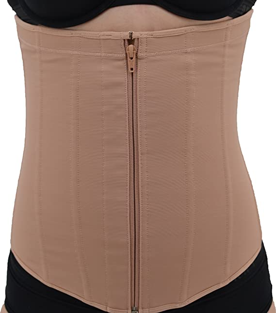 8 Of Hearts Fajas Colombianas Style Powernet Extra Firm Compression Waist Cincher at Amazon Womens Clothing store: