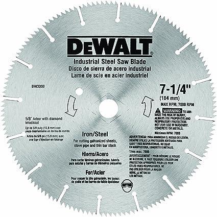 Dewalt dw3330 7 14 inch iron and steel cutting segmented saw blade dewalt dw3330 7 14 inch iron and steel cutting segmented saw blade greentooth Gallery