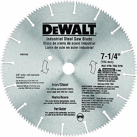 Dewalt dw3330 7 14 inch iron and steel cutting segmented saw dewalt dw3330 7 14 inch iron and steel cutting segmented saw blade greentooth Gallery