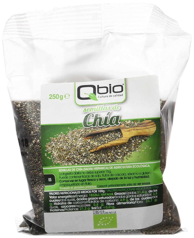 Qbio Semillas de Chía - 6 Paquetes: Amazon.es: Alimentación ...