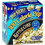 Pop Secret Snack Size 100 Calorie Kettle Corn, Microwavable Popcorn, 10-Count, 11.2-Ounce Box (Pack of 3)
