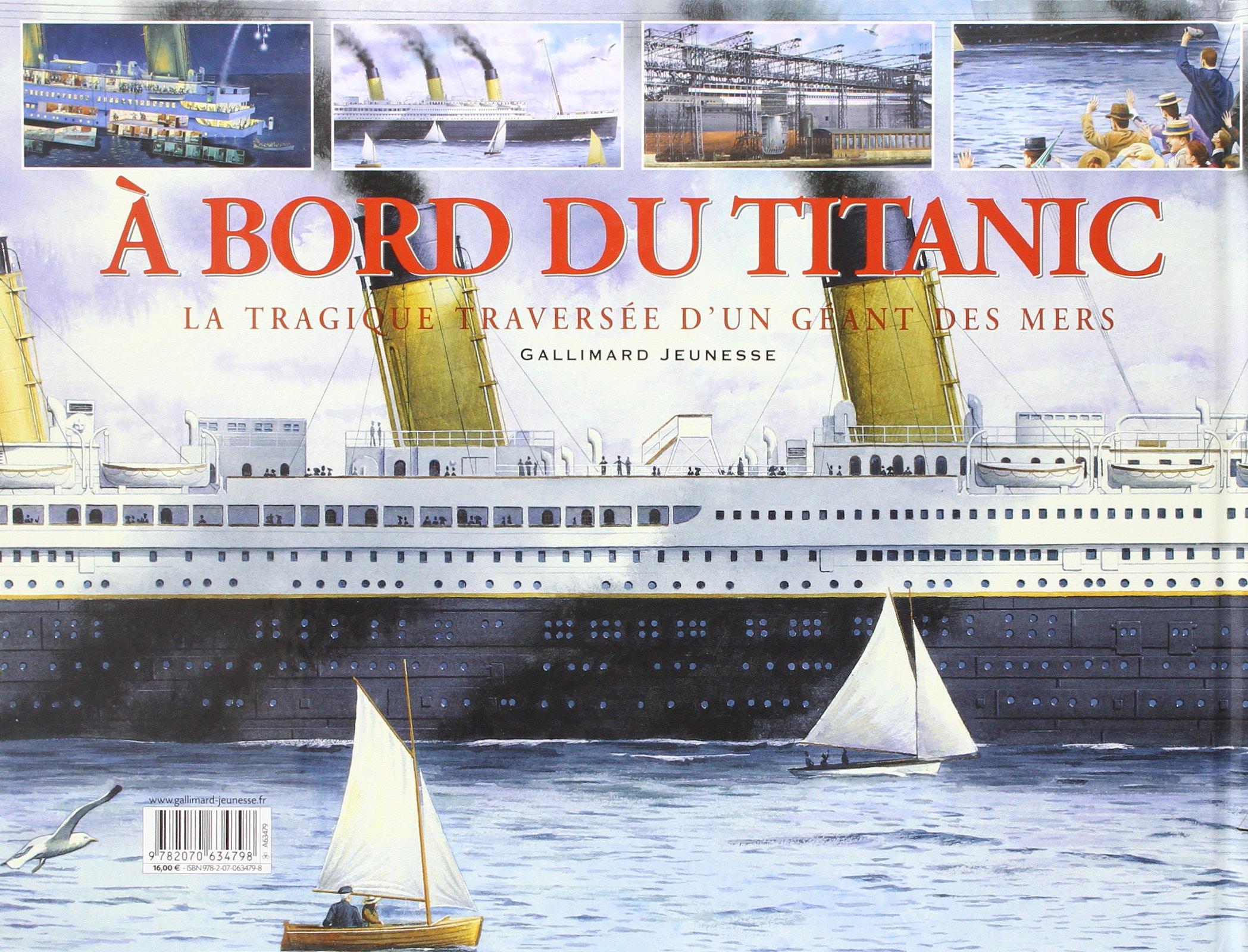 À bord du Titanic : la tragique traversée d'un géant des mers 91r7ero%2BPTL