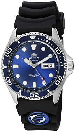 Amazon Com Orient Men S Ray Ii Rubber Japanese Automatic
