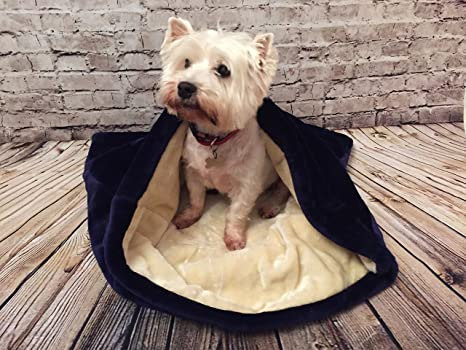 Snuggle saco/saco de dormir/Mascotas Cama para perros y gatos por Pet de