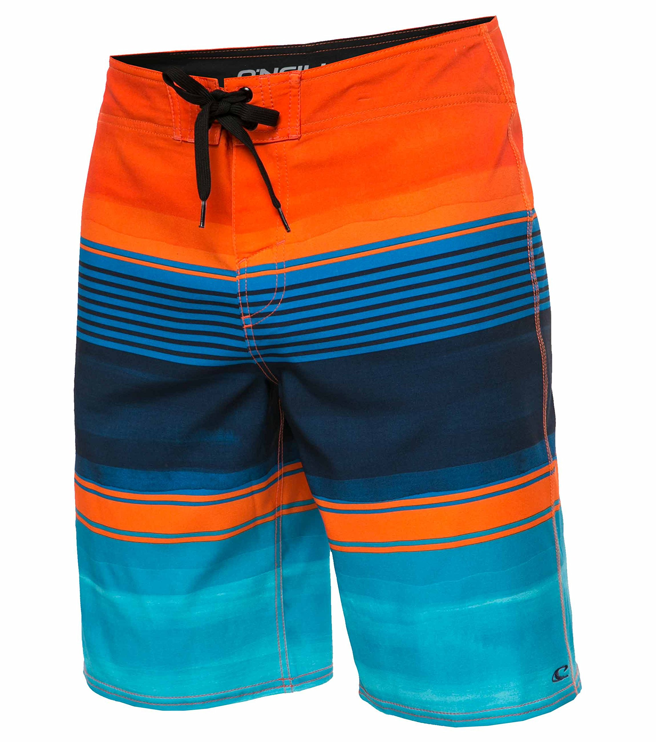 31262ad9c4 Galleon - O'Neill Men's Brisbane Lennox Board Shorts - Brisbane Orange,  Size 32