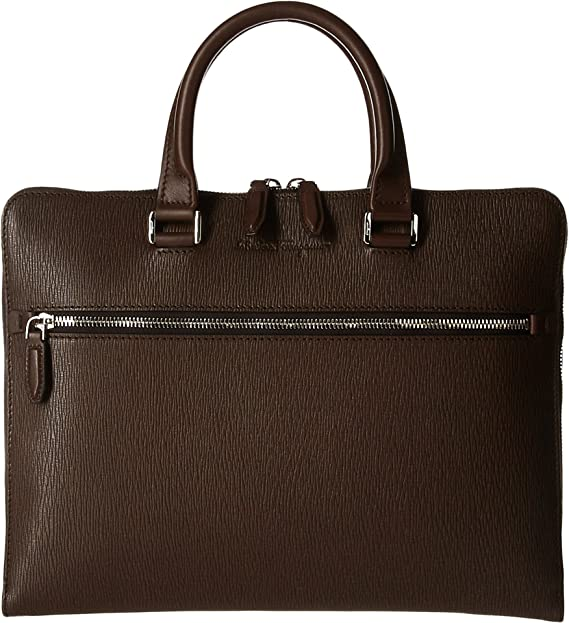 f132112eaa Salvatore Ferragamo Men s Revival 3.0 Briefcase 1 Gusset - 240416 Tabacco  One Size