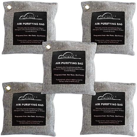 Amazon.com: Silverlinings - Bolsas purificadoras de aire de ...
