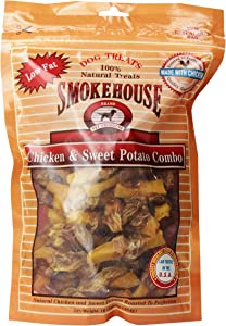 Smokehouse Chicken And Sweet Potato Combo Dog Treat, Resealable Bag