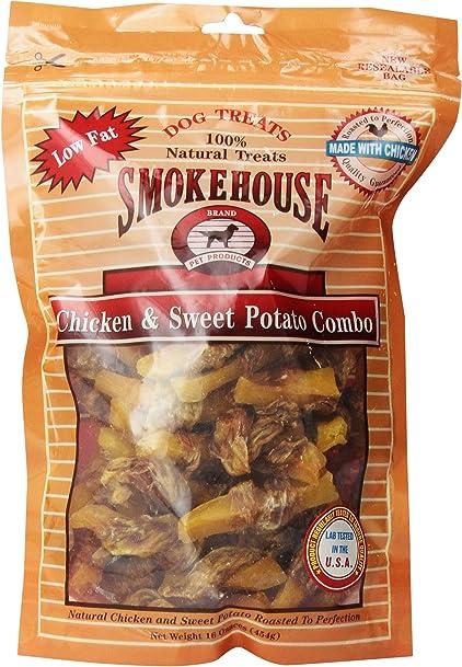 Smokehouse Chicken And Sweet Potato Combo Dog Treat, Resealable Bag