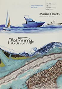 Navionics Platinum Plus 644P+ California South to Baja and Hawaii Marine Charts on SD/MSD