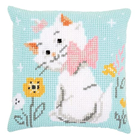 Amazon.com: Disney Aristocats Marie Cross Stitch Cushion Kit