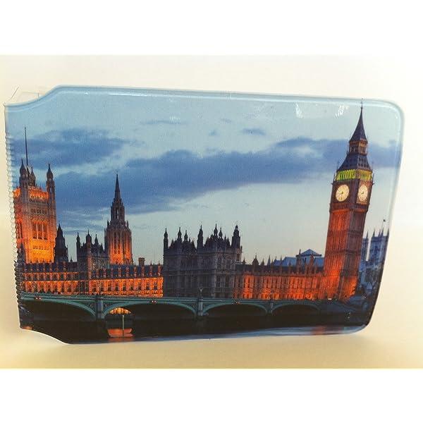 Tarjetero de tarjeta Oyster con el Big Ben y el Parlamento ...