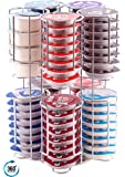Contenedor de Cápsulas Tassimo   Contiene 80 Cápsulas sobre una base ROTATIVA   La garantía de calidad inmejorable de Babavoom®T80