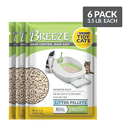 Purina Tidy Cats Litter Pellets; BREEZE Refill Litter Pellets
