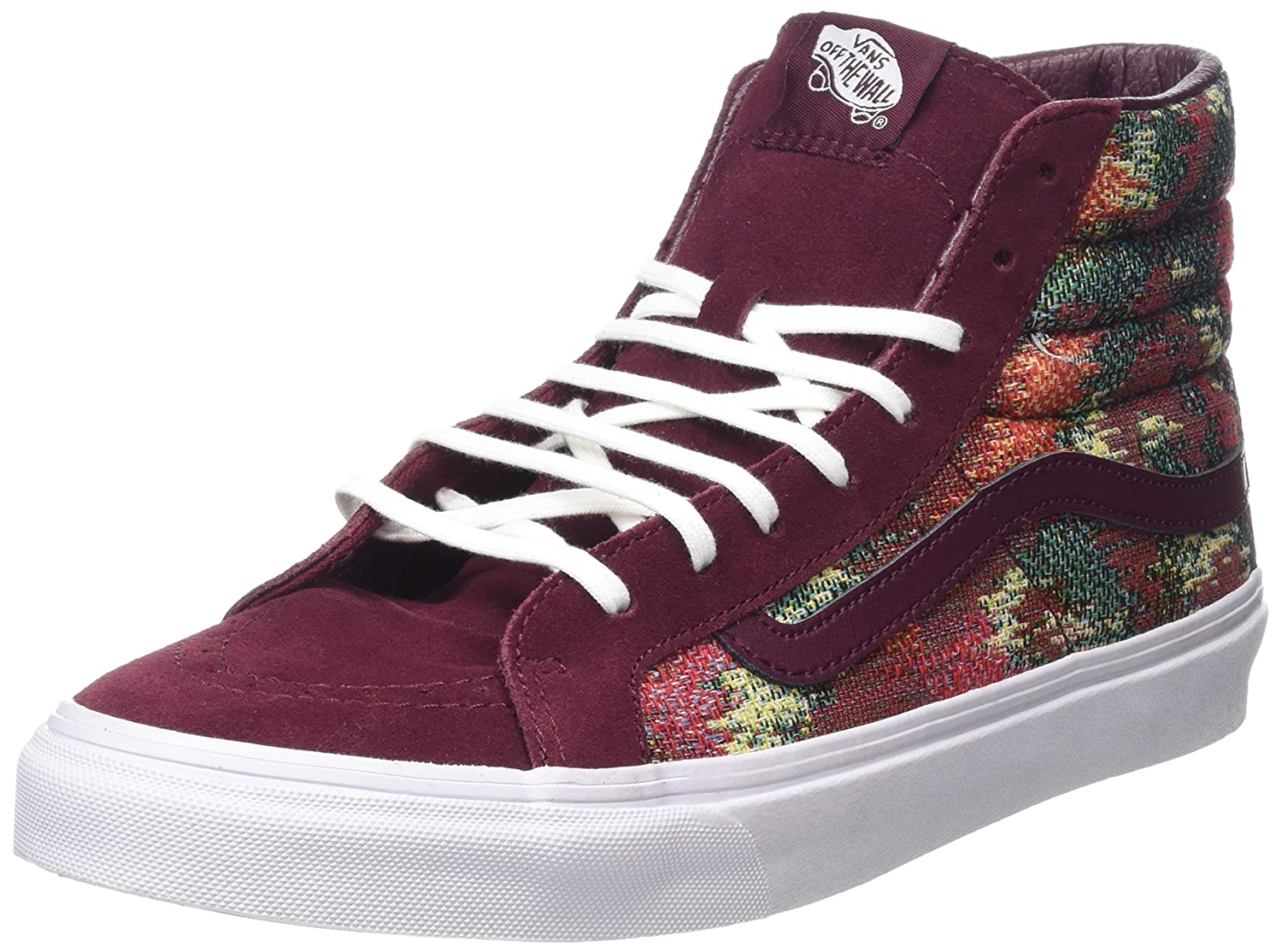 Vans Unisex Sk8-Hi Slim Women's Skate Shoe B019KY4ZYS 9.5 M US Women / 8 M US Men|Port Royale