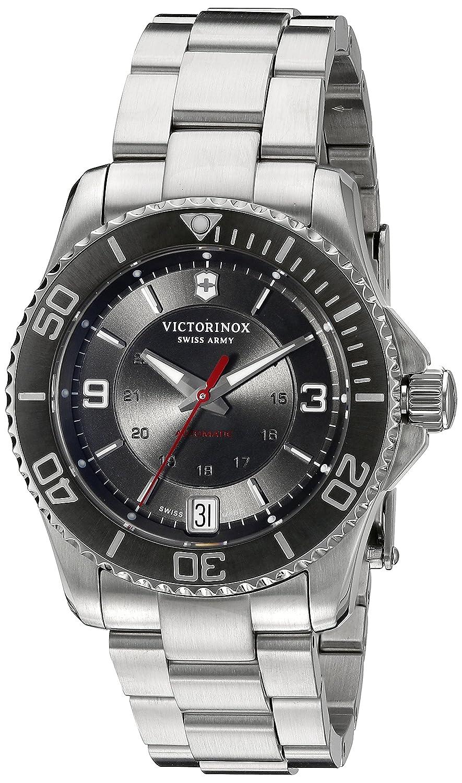 Victorinox Men s Maverick Swiss Automatic Stainless Steel Casual Watch