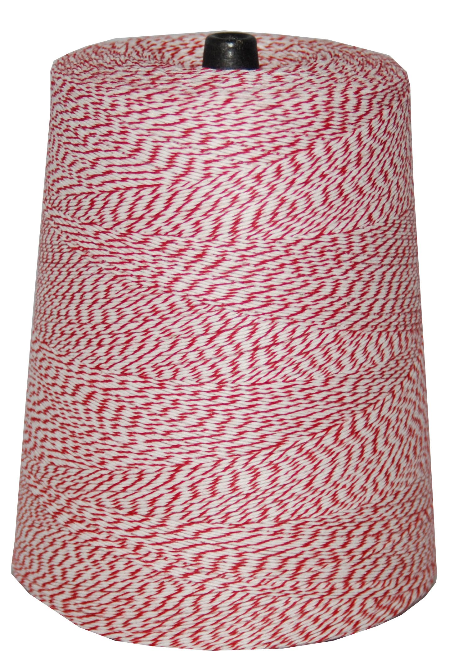 T.W . Evans Cordage 07-041 4 Poly Variegated 2-Pound Cone, 9600-Feet, Red and White