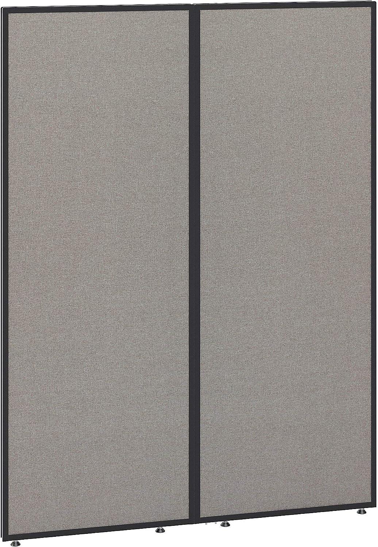 Bush Business Furniture ProPanels Office Partition, 66H x 48W, Light Gray