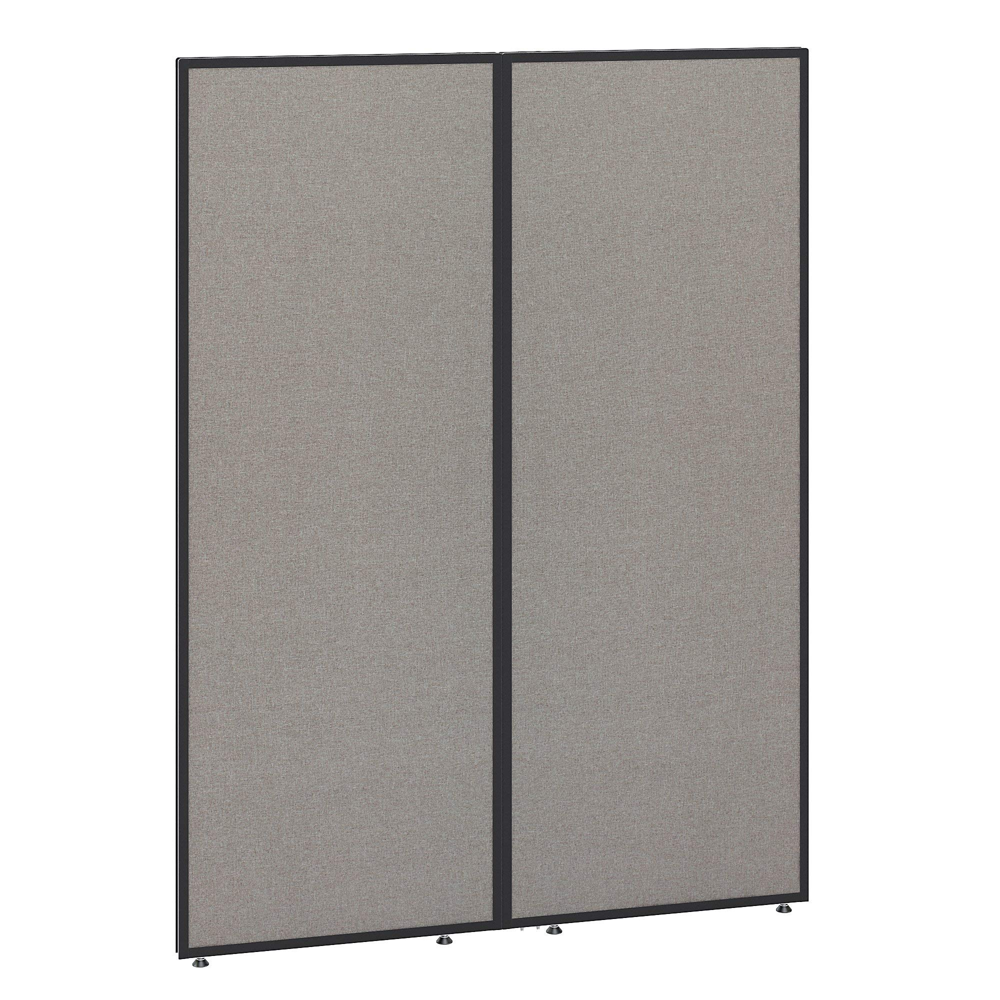 Bush Business Furniture PP66749-03 ProPanels Office Partition, 66H x 48W, Light Gray by Bush Business Furniture (Image #1)