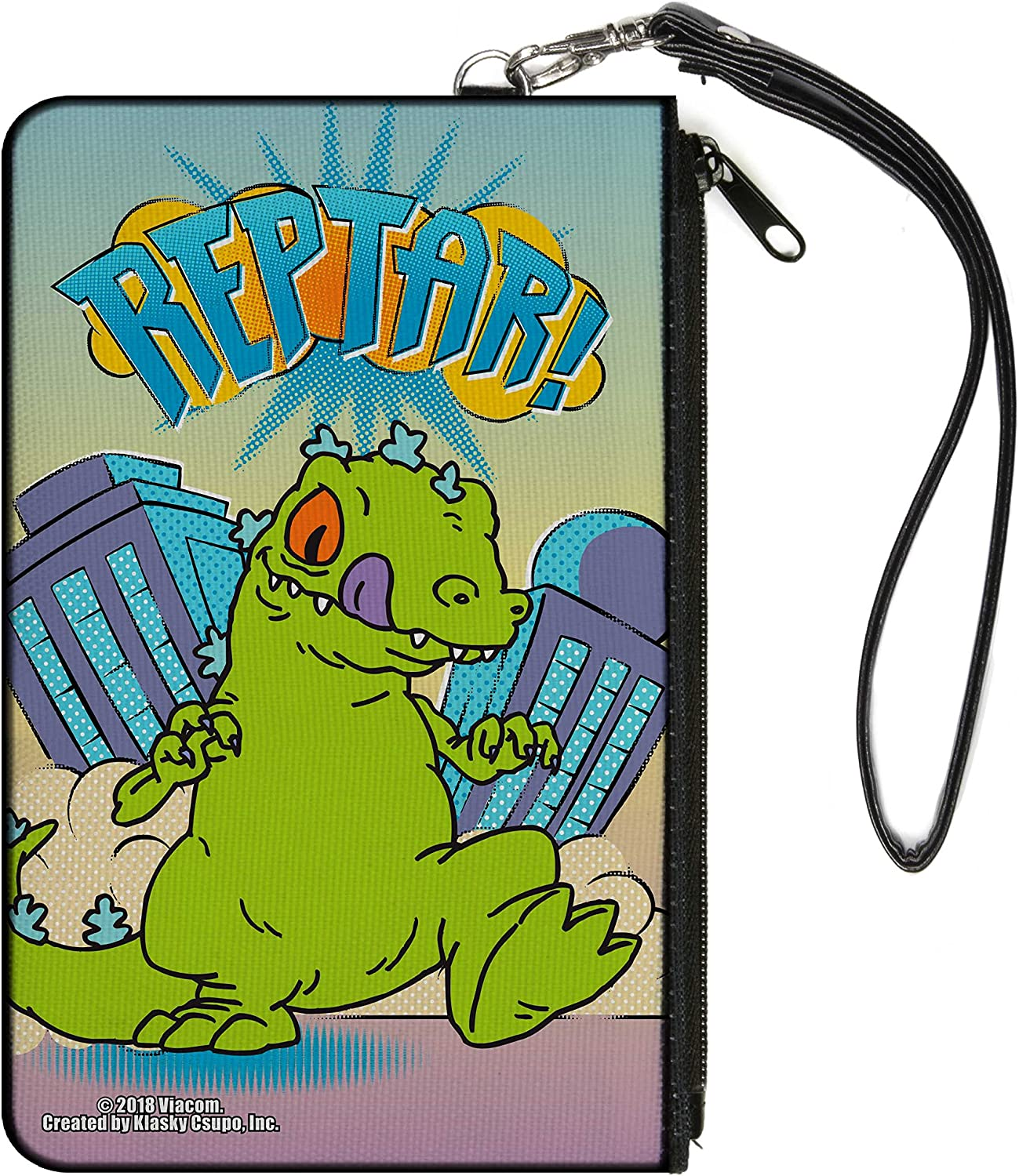 rugrats womens Buckle-down Canvas Coin Purse, Multicolor, 4.25 x 3.25 US