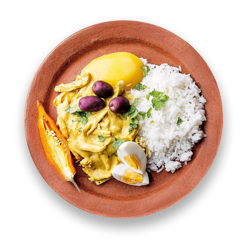 Takeout Kit, Peruvian Yellow Pepper (Aji Amarillo) Pantry Meal Kit - Just Add Chicken, Serves 4 91r8I0PR-aL