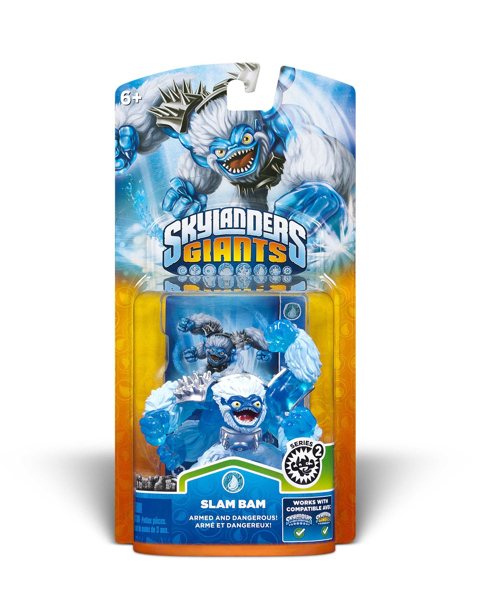 Skylanders Giants: Single Character Pack Core Series 2 Slam Bam