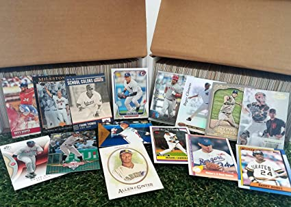 Amazon.com: Baseball Cards- (900) card Super Jumbo lot of ...
