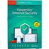 Internet Security - 1 Dispositivo, Kaspersky, KL1939K5AFS