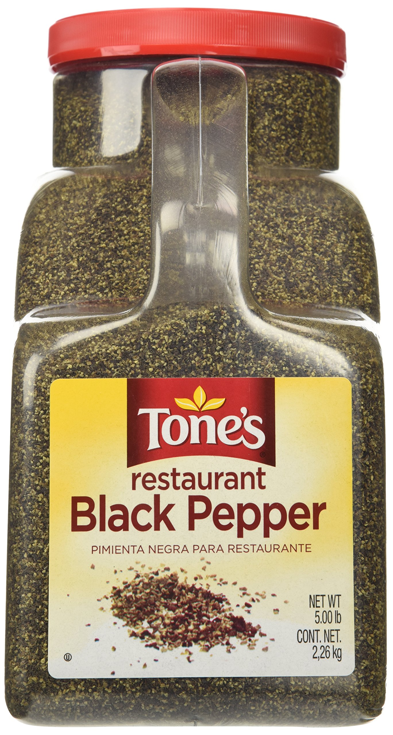 Tone's Restaurant Black Pepper 5lb.