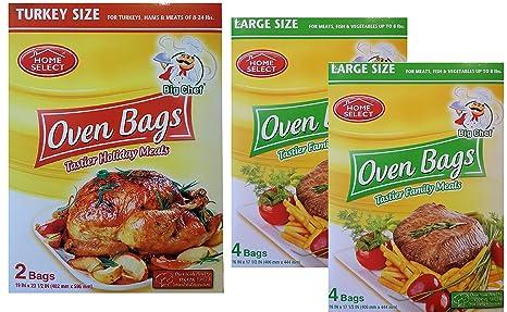 Amazon.com: Bolsas para Horno Hornear Cocina – Turquía y ...