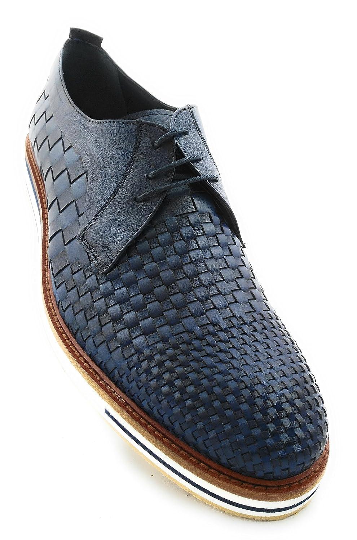 Zerimar Lederschuh Schuhe für Herren Schuhe Elegant Herren Lederschuhe Casual Echter Leder Schuh für Mann Bequeme Schuhe Man