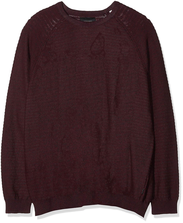 TALLA 4XL. JACK & JONES Jcowind Knit Crew Neck Noos-PS, suéter para Hombre