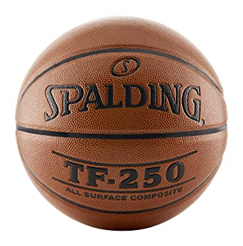 Spalding TF250 Mens 29-1/2 Inches Official Basketball, Orange