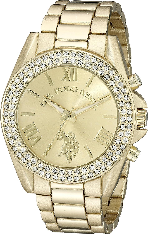U.S. Polo Assn. Women s USC40036 Gold-Tone Watch