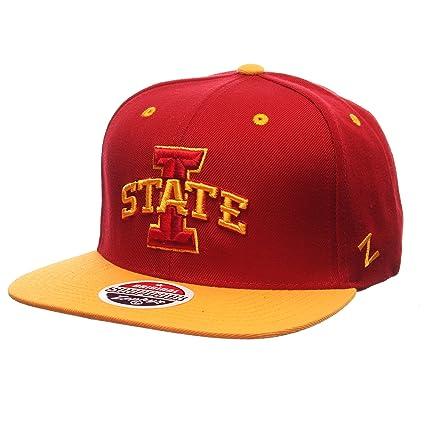 875664c5d85 Amazon.com   ZHATS NCAA Iowa State Cyclones Men s Z11 Snapback Hat ...