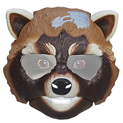Marvel Guardians of The Galaxy Rocket Raccoon Action Mask: Toys & Games