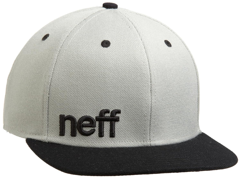 Neff Daily Cap Snapback Snap Mtze Flatbrim Basecap B007APJXII One Size|グレー/ブラック グレー/ブラック One Size