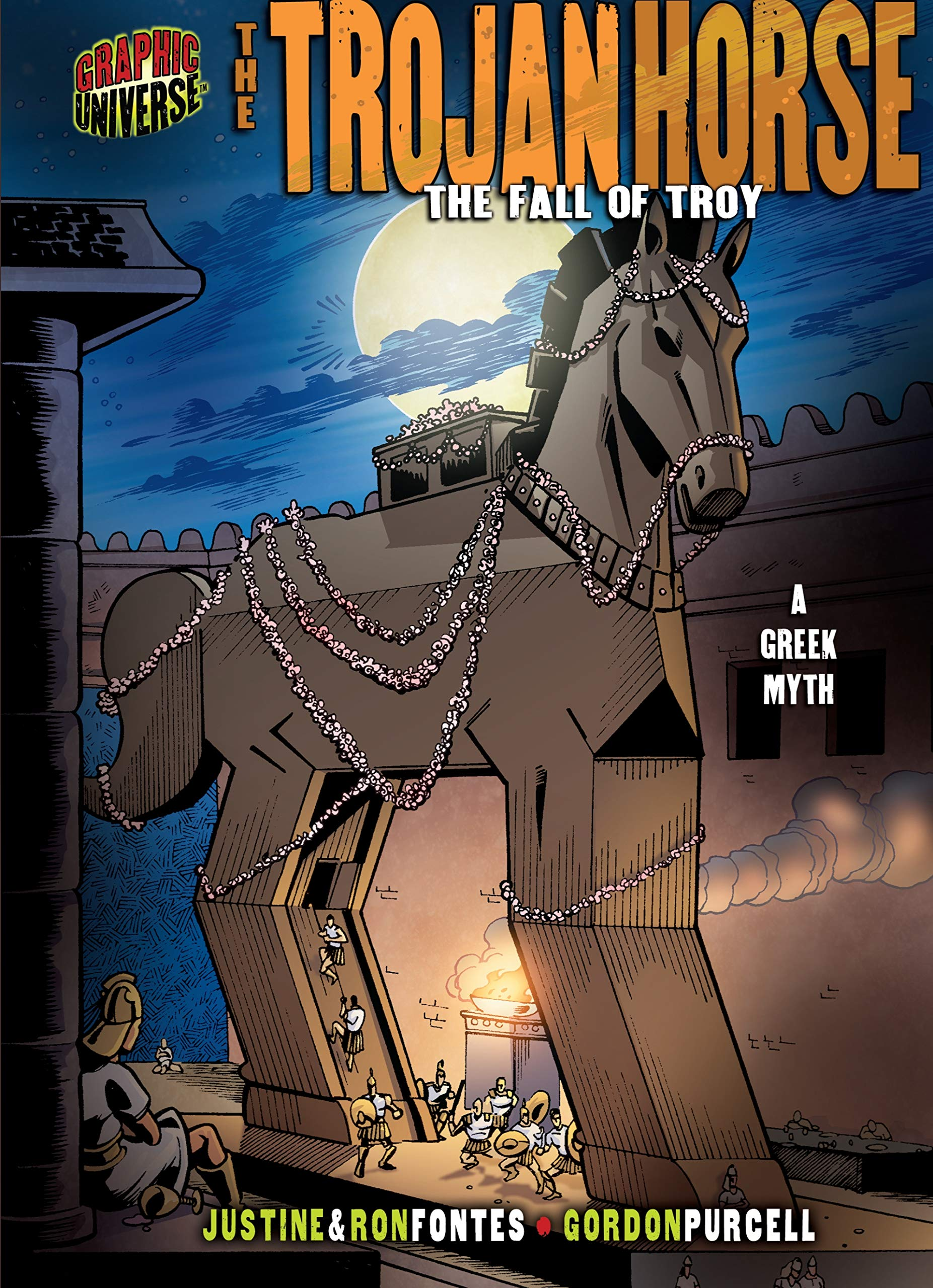 Read Online The Trojan Horse: The Fall of Troy [a Greek Myth] (Graphic Myths and Legends) ebook