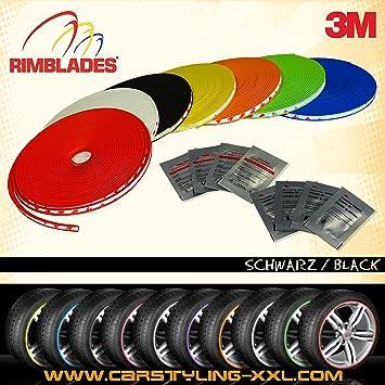 Rimblades con 3M Pegamento - Color Negro - Protección de la llanta e Styling por Les